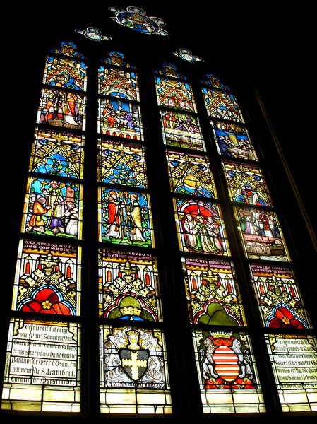 stained Glass: Taken in st.servaas church in Maastricht NL