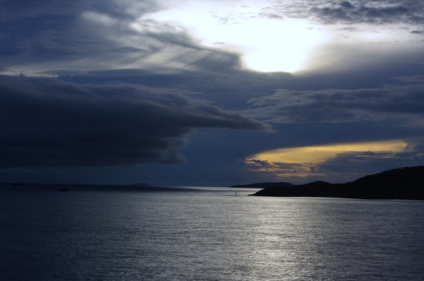 Clouds: Rain coming, Northern Territory coast