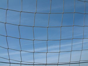 Net: Net of a soccer goal