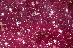 Sparkling Christmas background: Christmas decoration
