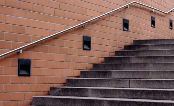 stairs: stairs at a public place in Karlsruhe/Germany