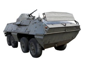 Amphibious armored personnel c: Czech vehicle from polish army