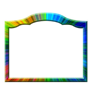 Photo frame - square 5: Frame for shot or painting