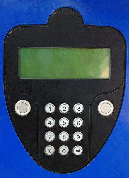 Parking meter in Poland: Device used to collect money in exchange for the right to park a vehicle in a particular place for a limited amount of time. Parking meters can be used by municipalities as a tool for enforcing their integrated on-street parking policy, usually related to