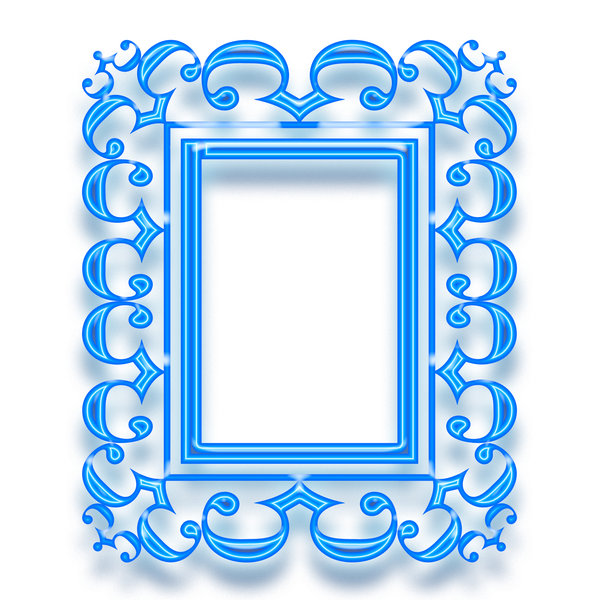 Baroque frame 5: Stylised picture frame
