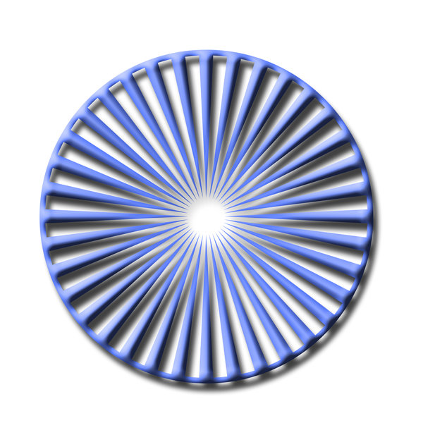 Delusion wheel 3: Wheel for optical illusions