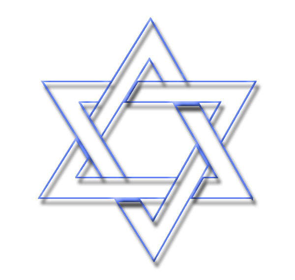 Star of David  5: The Star of David or Shield of David (Magen David in Hebrew) is a generally recognized symbol of Jewish identity and Judaism