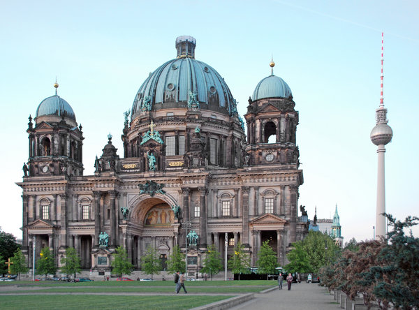 Berlin Cathedral: Berlin Cathedral (German: Berliner Dom) is the colloquial name for the Evangelical Supreme Parish and Collegiate Church