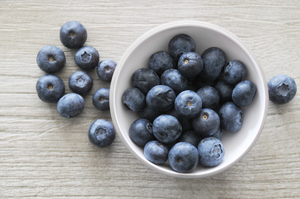 Fruit: blue berries