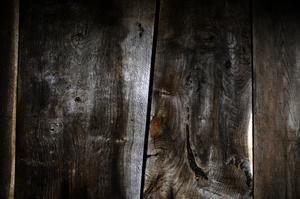 background: old wooden planks