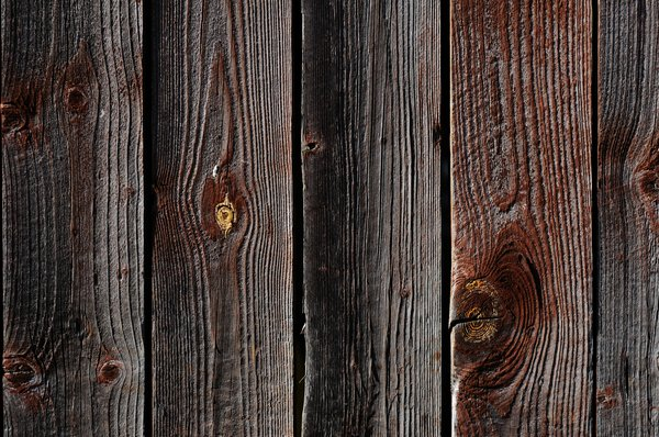 wood: old dark wooden planks