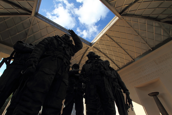 Bomber Command Memorial: Bomber Command Memorial, Green Park, London, opened in June 2012.