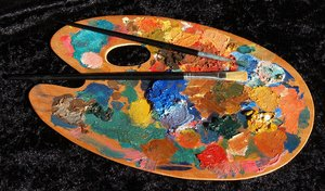 Artist palette: No description
