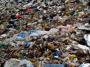 City dump: City dump pictures are strong statements. They speak of waste but also of environment protection.