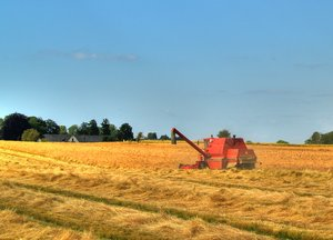 Harvester: The picture is HDR
