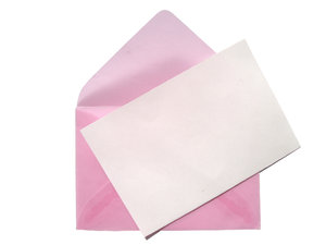 pink envelope 4: time to write a message