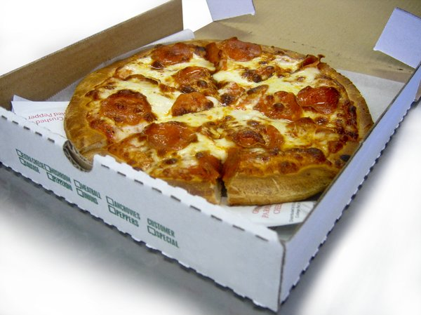 Pizza Inbox: Pizza pie ready for delivery