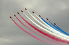 Red Arrows: Red Arrows displaying at Easbourne UK 2008