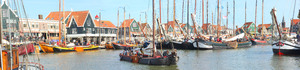 Volendam: The charming harbour of Volendam