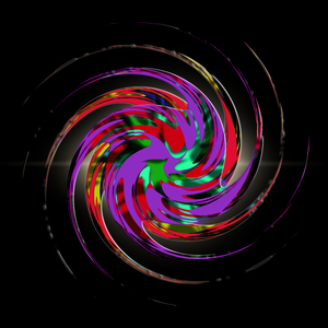 vortex: colorful vortex-CG