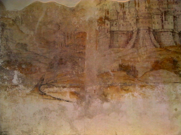 ancient wall drawing: ancient wall drawing-Ragusa-Italy