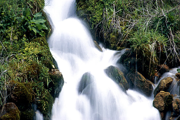 Running water_1: Water at the mount Pindos in Greece