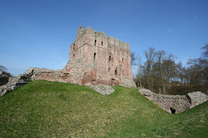 Norham Castle 1: Commanding a vital ford over the River Tweed, Norham was one of the strongest of the border castles, and the most often attacked by the Scots. Besieged at least 13 times – once for nearly a year by Robert Bruce – it was called 'the most dangerous an