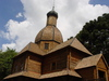 Wooden CHurch: A Church made in wood with Polish style