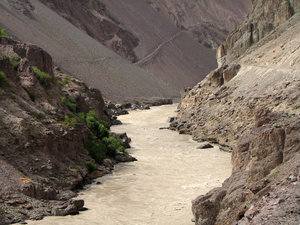 River Zanskar: The swift waters of River Zanskar, a rafting paradise!