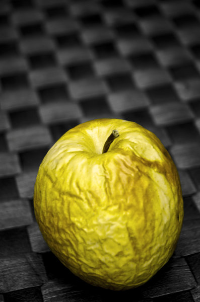 Decay: The decay of an apple