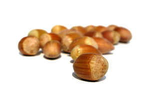 hazelnuts: none