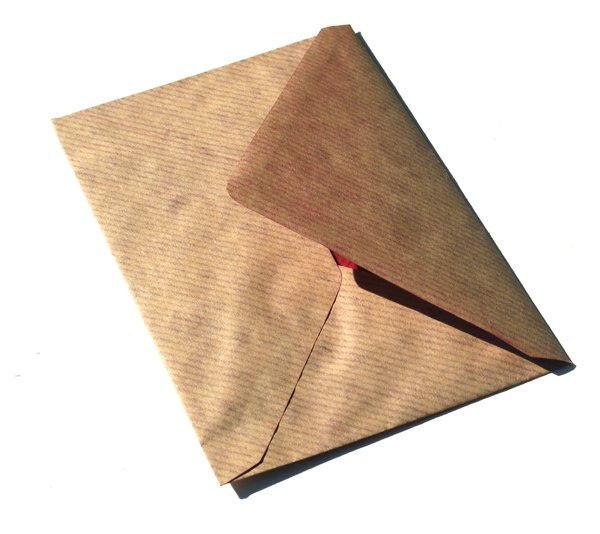 plain envelope: none