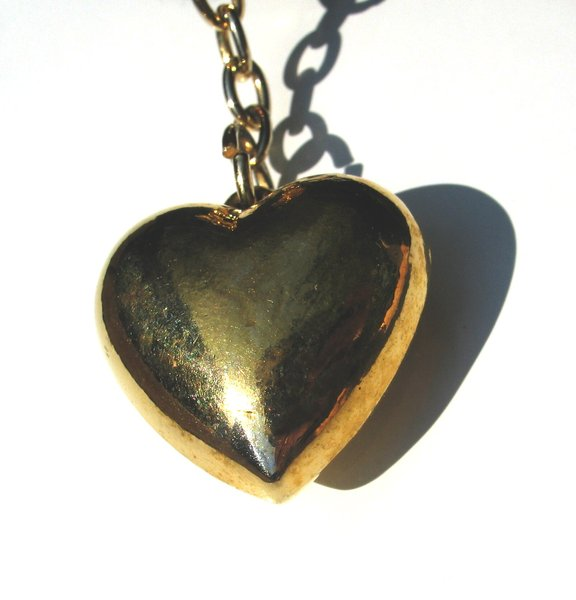chained heart: none