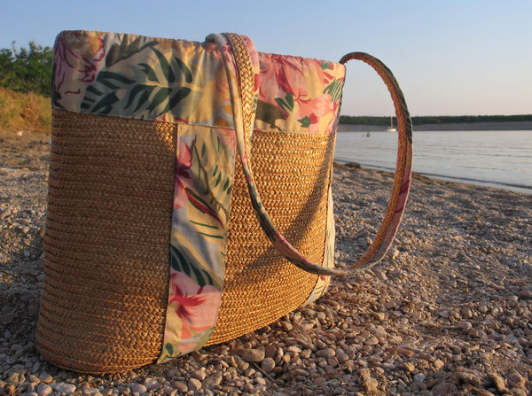 beach bag: none