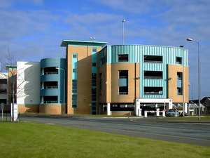 Modern building 1: Modern building in Dundee
