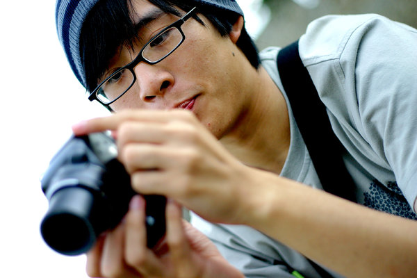 Photographer: Kenny and his sweet new camera :)