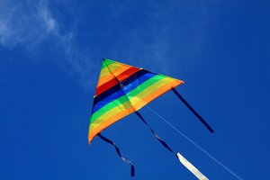 Kite Flying 2: Snapshots of kite flying on a sunny day