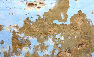 Urban Decay: Peeling paint on walls