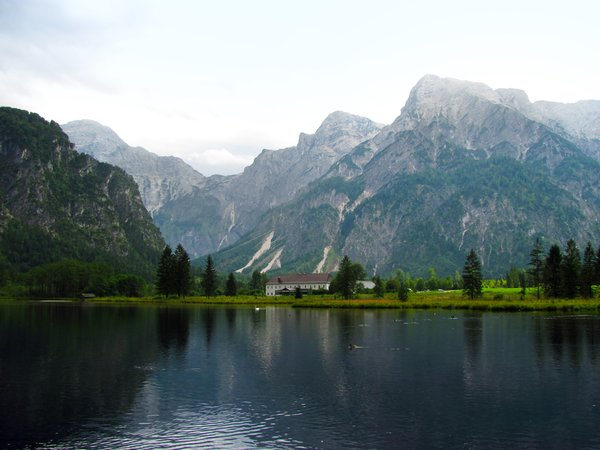 secluded house: house near lake Almsee, Upper Austria