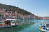 Greece harbour: The harbour at Gytheio, Greece.