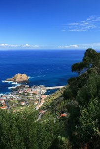 Madeiran coastal resort: A village and resort on the north coast of Madeira.