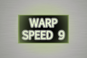Spaceship speed graphic: Speed warning sign in a spaceship dashboard. Font used is Euphemia, supplied free with Windows 8.