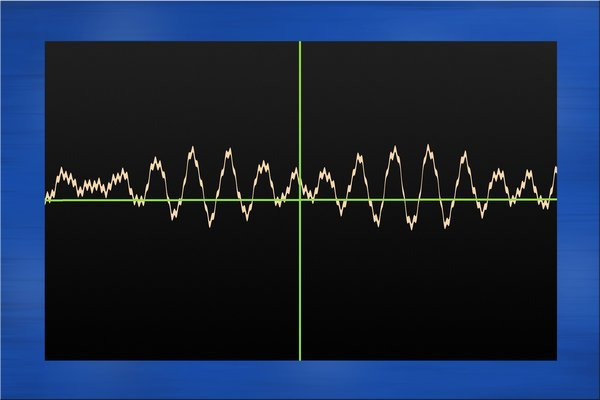 Oscilloscope: Oscilloscope graphic.