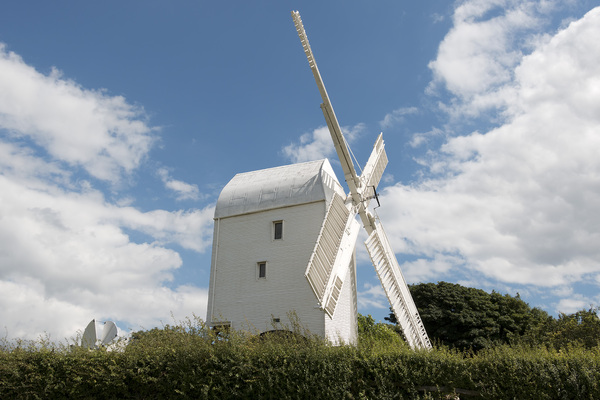 White windmill: The
