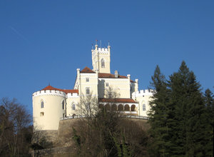 beautiful castle: castle Trakoscan, Croatia
