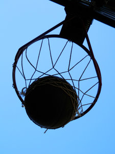 basketball hoop: no description
