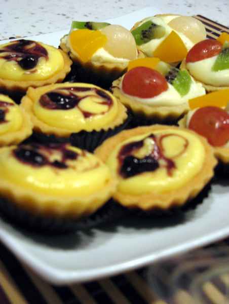 TARTS: Fruit tarts & Cheese tarts....em...which one?