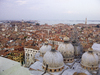 View over Venice: Taken from the top of St Mark's Campanile (tower) on a hazy day