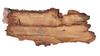 Board: Wooden board / bark.