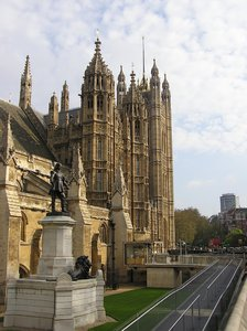 Westminister Parliament: A beautiful Westminister building. London.